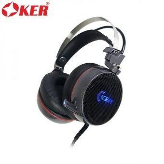 OKER 7.1 VIBRATION GANING HEADSET หูฟังเกมมิ่ง รุ่น X93 (สีดำ) (image 0)