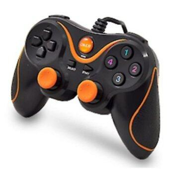 OKER จอยคอม Dual Shock Joystick USB U918 (Orange)