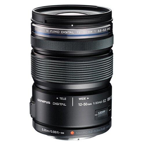 Olympus Lens M.ZUIKO DIGITAL ED 12-50mm F3.5-6.3 EZ (Black)