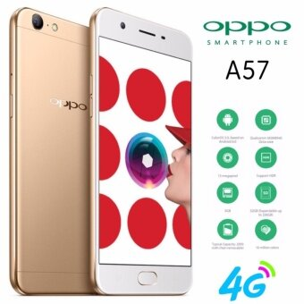 OPPO A57 ประกัน 1 ปี 4G