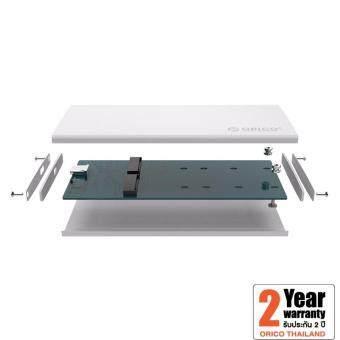 ORICO DM2-RC3 Aluminum Dual-bay 10Gbps M.2 RAID External Hard Drive Enclosure