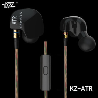 Original KZ ATR 3.5mm In Ear Earphones HIFI Stereo Sport HeadsetsSuper Bass Noise Isolating With Mic - intl