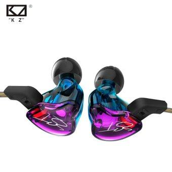 Original KZ ZST Colour Balanced Armature+Dynamic Hybrid Dual DriverEarphones HIFI Earbuds Bass Headset In-ear Earphones WithMicrophone - intl