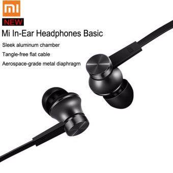 Original Mi Xiaomi Basic Piston Earphone In-Ear With Mic-แท้ (สีดำ)
