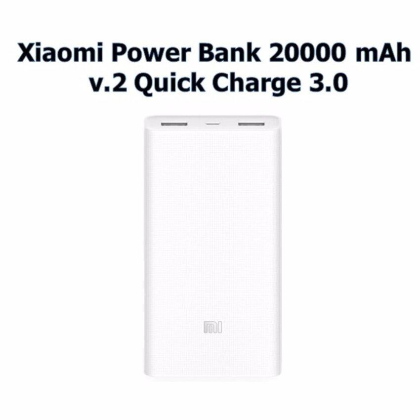 Original Xiaomi Power bank 20000 mAh v.2 Quick Charge 3.0