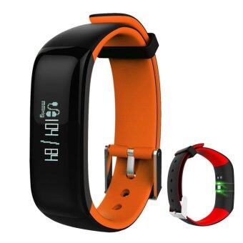 Harga P1 Smartband Watches Heart Rate Heart Rate Monitor Bluetooth SmartBracelet Fitness Bracelet for IOS Android Smart Phone - intl