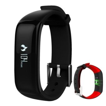 Harga P1 Smartband Watches Heart Rate Heart Rate Monitor BluetoothSmartBracelet Fitness Bracelet for IOS Android Smart Phone - intl