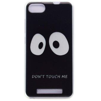 Pattern Printing TPU Phone Case for Wiko Lenny 3 - Do not Touch Me - intl