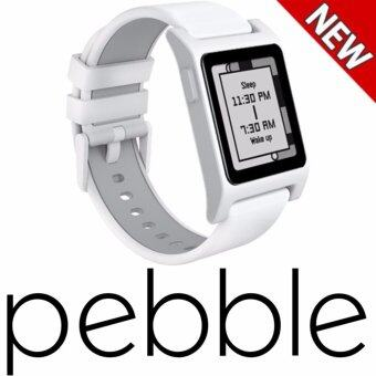 Harga Pebble 2 + Heart Rate Smart Watch(White/White) - intl