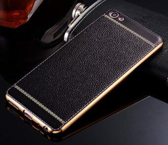 Harga Phone case soft leather mobile phone case litchi grain corticalsoft shell for vivo X5 pro - intl