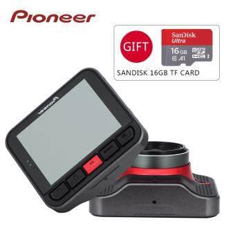 ประเทศไทย Pioneer กล้องติดรถยนต์ ND-DVR130 Parking Monitor FHD+WDR จอ 2.7นิ้ว รองรับหน่วยความจำ 128 GB ฟรี!! Sandisk Micro SD Card 16GB