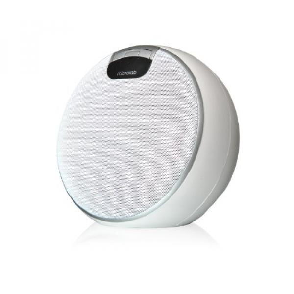 [Portable Speaker] Microlab MD312 Bluetooth Wireless Portable Speaker (White) - intl