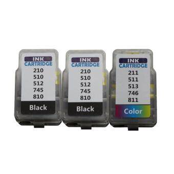 Pritop /Canon Inkjet IP2870/MG2570/MG2470 ink PG-745*2/CL-746*1
