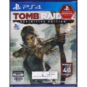 PS4 Game TOMB RAIDER DEFINITIVE EDITION [Zone 3/Asia]