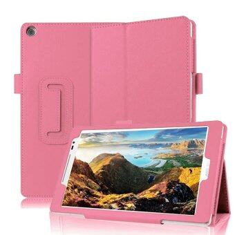 Harga PU Leather Lightweight Smart Cover Stand Case for Asus ZenPad 7.0Inch Z370 Z370C Z370CG (Pink)