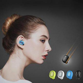 QCY Q26 Wireless Mini In-ear Stereo Smart Bluetooth HeadsetEarphone Microphone Microphone(Black) - intl
