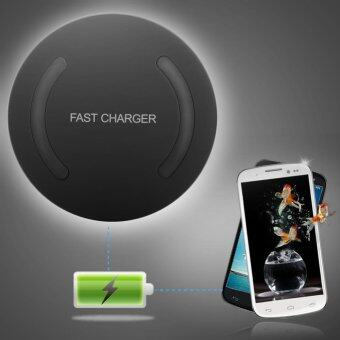 Harga Qi Wireless Fast Charger Quick Charging Adapter for Samsung Galaxy S6 NOTE5 S7 S8 - intl