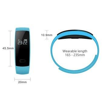 QS80 Smart Watch Gsensor Blood Pressure Sleep Heart Rate MonitorWristband IP67 - intl - 3