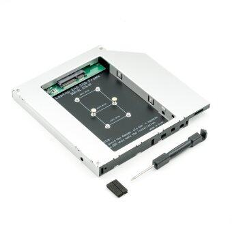 QUMOX Laptop 2nd Driver Caddy mSATA SSD to Slim SATA