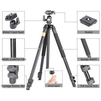 QZSD Q308 By 9FINAL Tripod ขาตั้งกล้อง พร้อมหัวบอล QZSD-04 ( modelเดียวกับ beike BK-308) สูง 1.5 เมตร (image 3)
