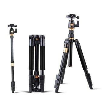 Harga QZSD Q555 55.5 Inches Lightweight Tripod Monopod with 1/4 Screw - intl