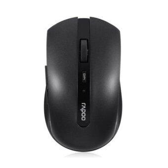 ประเทศไทย Rapoo 7200P Wireless Optical Mouse (Black)