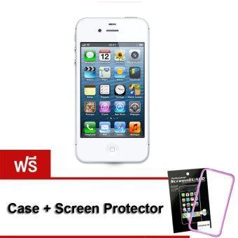 REFURBISHED Apple iPhone4S 16 GB (White) Free Case+ScreenProtector