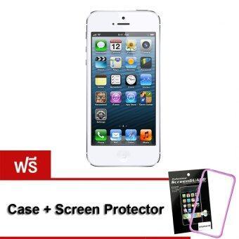 (REFURBISHED) Apple iPhone5 16 GB ( White ) Free Case+ScreenProtector