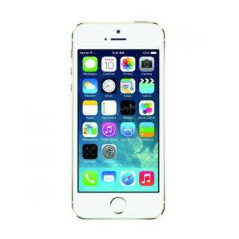 REFURBISHED Apple iPhone5S 16 GB (Gold) Free Case+Screen Protector