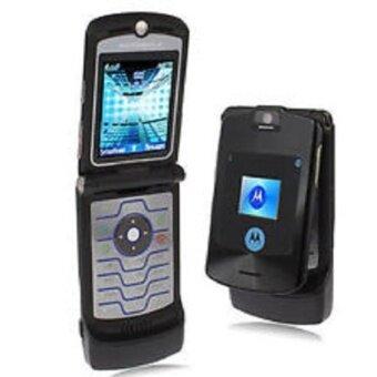 REFURBISHED Motorola V3i RAZR รองรับ AIS/DTAC/TRUE (Black)