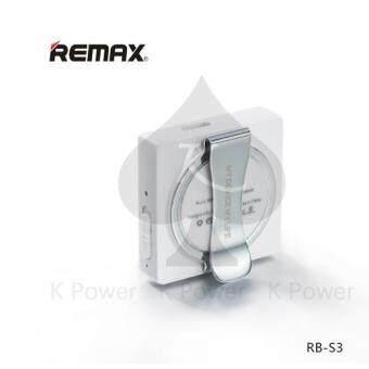 Remax Sport Clip-On Bluetooth Headset รุ่น RB-S3 พร้อมหูฟัง In-Ear(Black) (image 3)