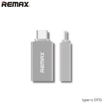 REMAX Type-C USB 3.0 OTG Sync Charging Adapter Connector-เงิน