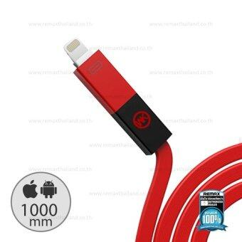 Remax สายชาร์จ USB 2in1 for ios/android WDC-005 Phantom (Red)