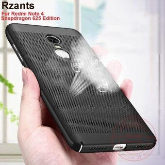 Harga Rzants ??? Redmi Note 4 (Snapdragon 625) Hot Breath Hard Back Case Heat Dissipation Cover - intl