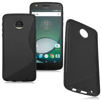 S-Line oft TPU Silicone Matte Skin Case Cover for Motorola Moto ZPlay-Black - intl