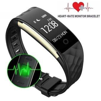 Harga S2 Bluetooth Smart Band Wristband Heart Rate Monitor IP67Waterproof Smartband Bracelet For Android and IOS - intl