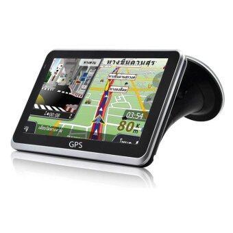 saleup GPS Navigator 5 เครื่องนำทางสำหรับรถยนต์ หน้าจอ 5 นิ้ว