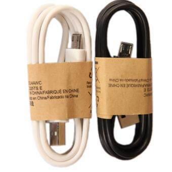 Samsung สายชาร์จMicro USBใช้สำหรับโทรศัพท์samsung S3 S4 Note 2แพ็ค2 ชิ้น สีดำ+สีขาว(White)