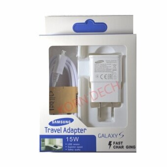 Samsung ที่ชาร์จ+สาย Samsung Galaxy S4/S5/S6 Micro USB Data Cable +Home Wall Charger