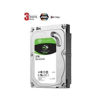 SEAGATE HDD - HARD DISK INTERNAL 2.0TB SATA-III 64MB (ST2000DM006) BARRACUDA -3 YEARS (By Synnex, Strek)