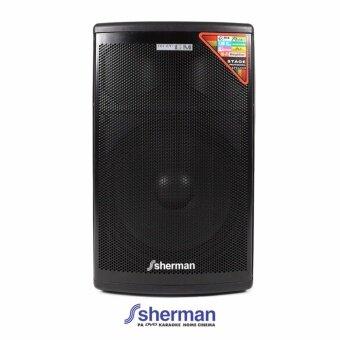 Sherman ลำโพงช่วยสอน (Bluetooth) รุ่น APS-115 (สีดำ)