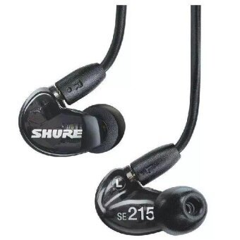Shure SE215 Bluetooth Headphones Noise Cancelling Headphone Wireless Earbuds Bluetooth Headset Sport In-Ear Sweatproof Bluetooth Earphone with Mic (Transparrent)) - intl