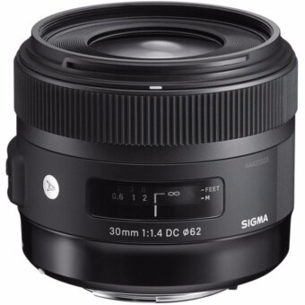 Sigma 30mm f/1.4 DC HSM Art Lens - [For Canon] - intl