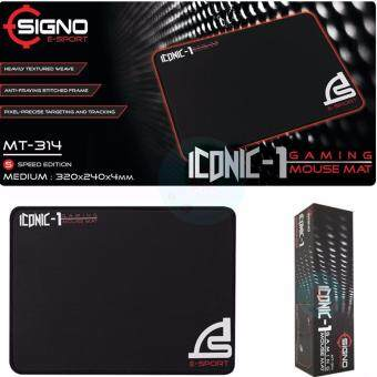 Signo E-Sport Gaming Mouse Mat ICONIC-1 รุ่น MT-314 (Speed Edition)