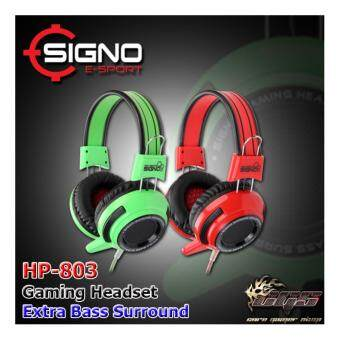 SIGNO หูฟัง Gaming Headphone HP-803