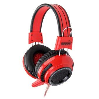 SIGNO หูฟัง Gaming Headphone HP-803R (Red)