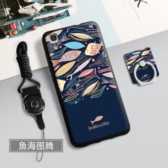 Silica Gel Soft Phone Case for 5.5 inch Huawei Y6 II Huawei Honor5A with a Rope