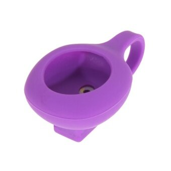 Silicon Magnetic Clasp Clip Holder case for JAWBONE UP MOVE Activity Tracke Purple - intl