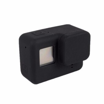 Silicone Cases Lens Protection Protective Soft Dust-Proof Cover forGo pro Hero 5 Action Camera