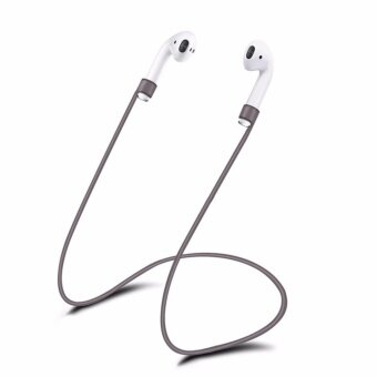 Silicone Ear Loop Strap Anti Lost String Rope Cord for Apple AirPods - intl